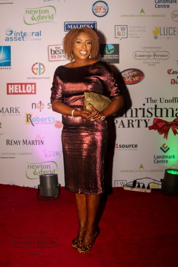 Laurent Perrier Sponsored-CEO Lounge at The Unofficial Christmas Party - Bellanaija - December2014012