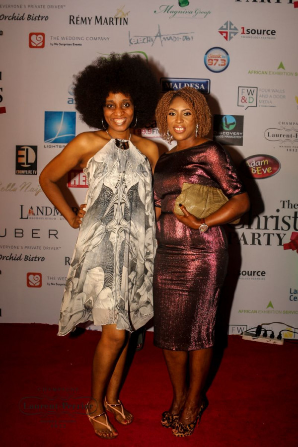 Laurent Perrier Sponsored-CEO Lounge at The Unofficial Christmas Party - Bellanaija - December2014013