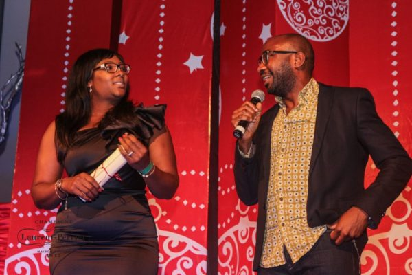 Laurent Perrier Sponsored-CEO Lounge at The Unofficial Christmas Party - Bellanaija - December2014022