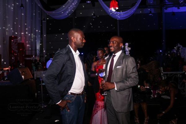 Laurent Perrier Sponsored-CEO Lounge at The Unofficial Christmas Party - Bellanaija - December2014023