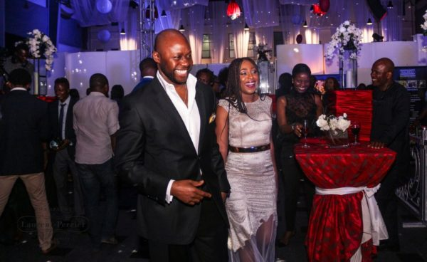 Laurent Perrier Sponsored-CEO Lounge at The Unofficial Christmas Party - Bellanaija - December2014025