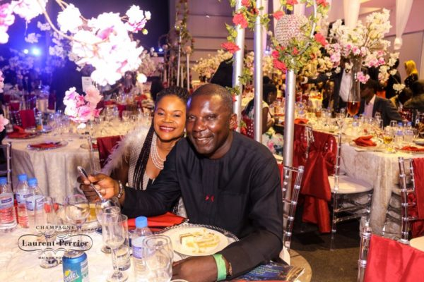 Laurent Perrier Sponsored-CEO Lounge at The Unofficial Christmas Party - Bellanaija - December2014026