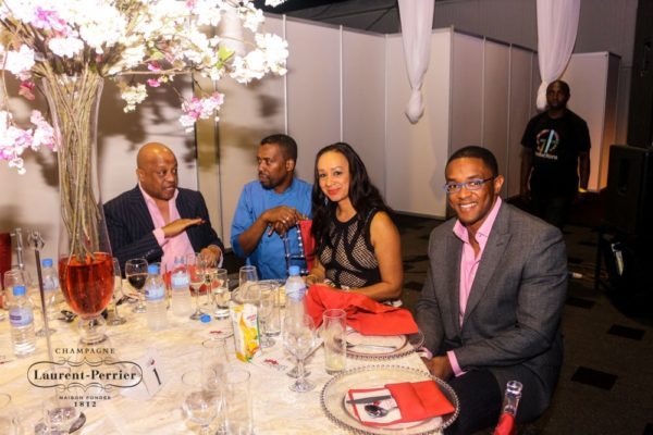 Laurent Perrier Sponsored-CEO Lounge at The Unofficial Christmas Party - Bellanaija - December2014027