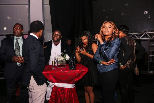 Laurent Perrier Sponsored-CEO Lounge at The Unofficial Christmas Party - Bellanaija - December2014028