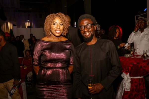 Laurent Perrier Sponsored-CEO Lounge at The Unofficial Christmas Party - Bellanaija - December2014032