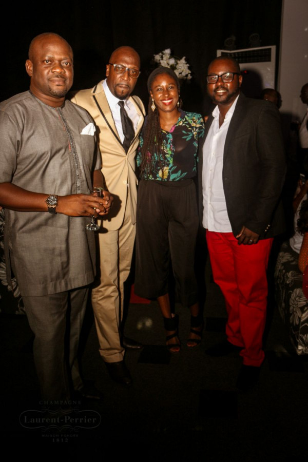 Laurent Perrier Sponsored-CEO Lounge at The Unofficial Christmas Party - Bellanaija - December2014033