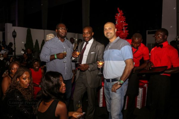 Laurent Perrier Sponsored-CEO Lounge at The Unofficial Christmas Party - Bellanaija - December2014034