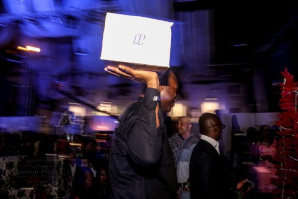 Laurent Perrier Sponsored-CEO Lounge at The Unofficial Christmas Party - Bellanaija - December2014035