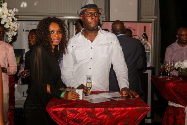 Laurent Perrier Sponsored-CEO Lounge at The Unofficial Christmas Party - Bellanaija - December2014036