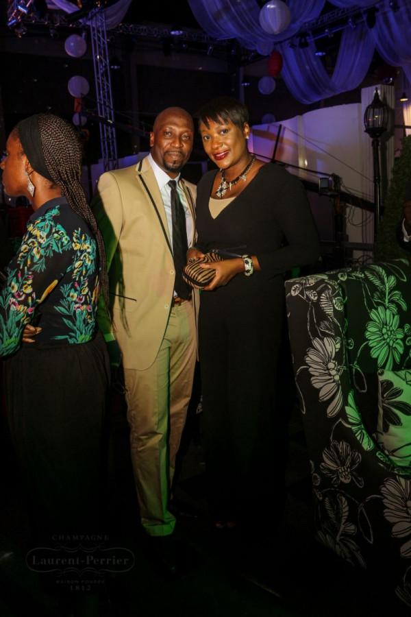 Laurent Perrier Sponsored-CEO Lounge at The Unofficial Christmas Party - Bellanaija - December2014037