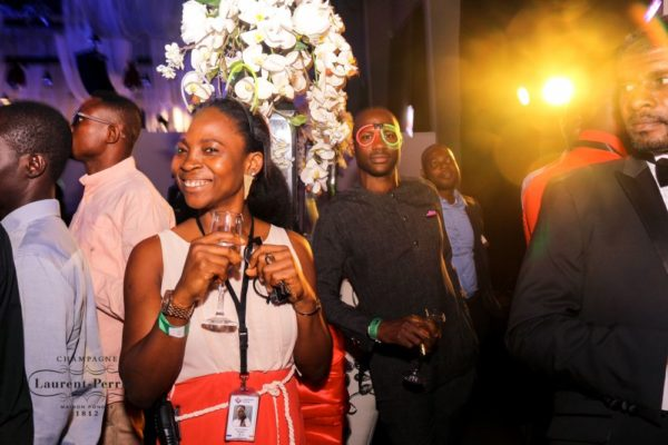 Laurent Perrier Sponsored-CEO Lounge at The Unofficial Christmas Party - Bellanaija - December2014038