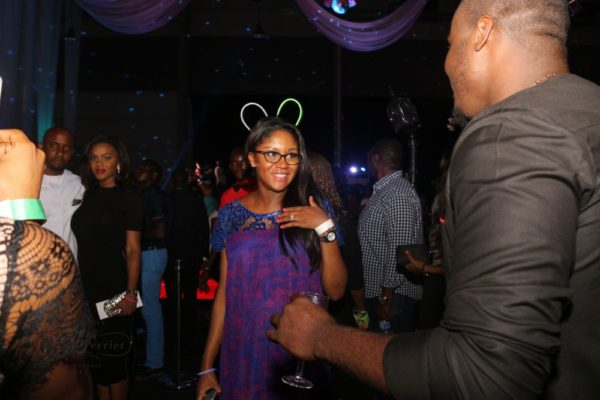 Laurent Perrier Sponsored-CEO Lounge at The Unofficial Christmas Party - Bellanaija - December2014040