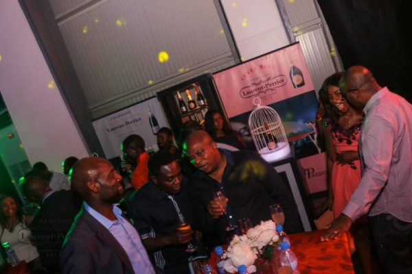 Laurent Perrier Sponsored-CEO Lounge at The Unofficial Christmas Party - Bellanaija - December2014042