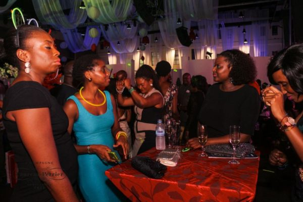 Laurent Perrier Sponsored-CEO Lounge at The Unofficial Christmas Party - Bellanaija - December2014043