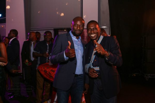 Laurent Perrier Sponsored-CEO Lounge at The Unofficial Christmas Party - Bellanaija - December2014044