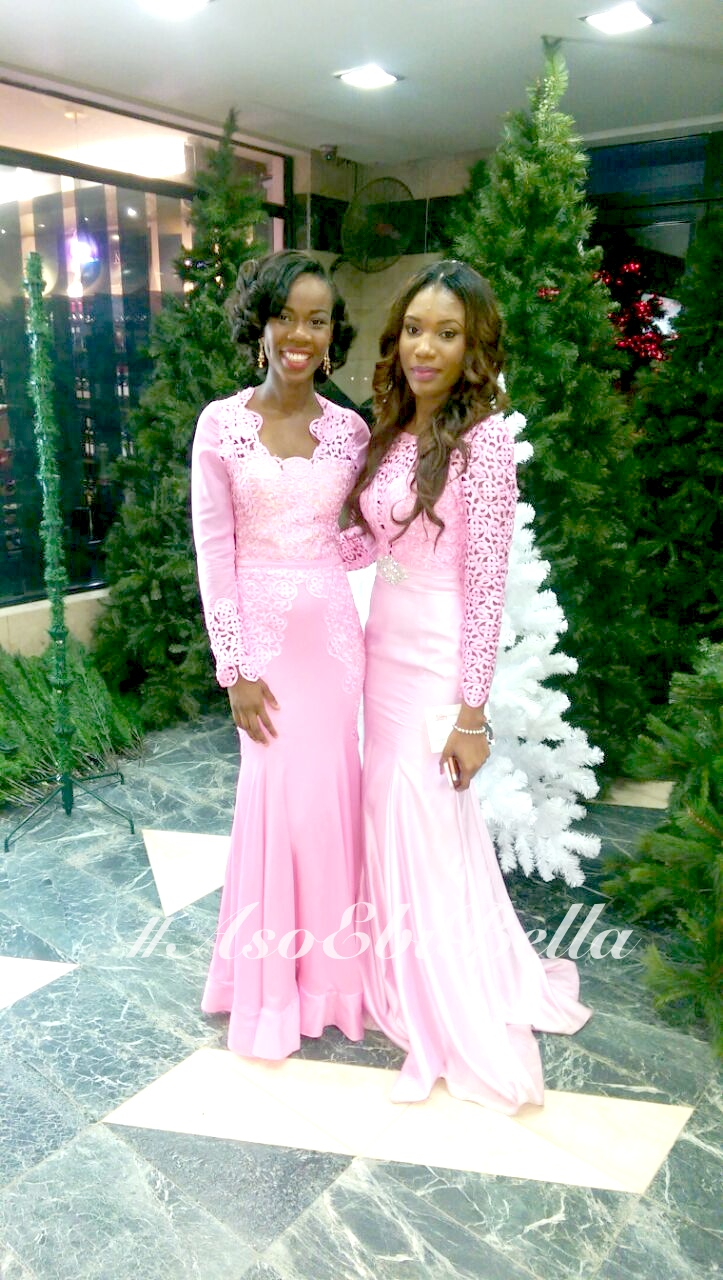 Left - @mimiokowa Right @ms_adaeze (dress by kathyanthony)