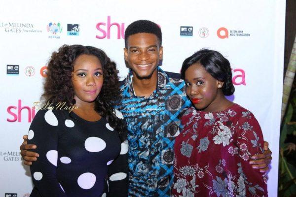 Sharon Ezeamaka, Olumide Oworu and Owumi Ugbeye