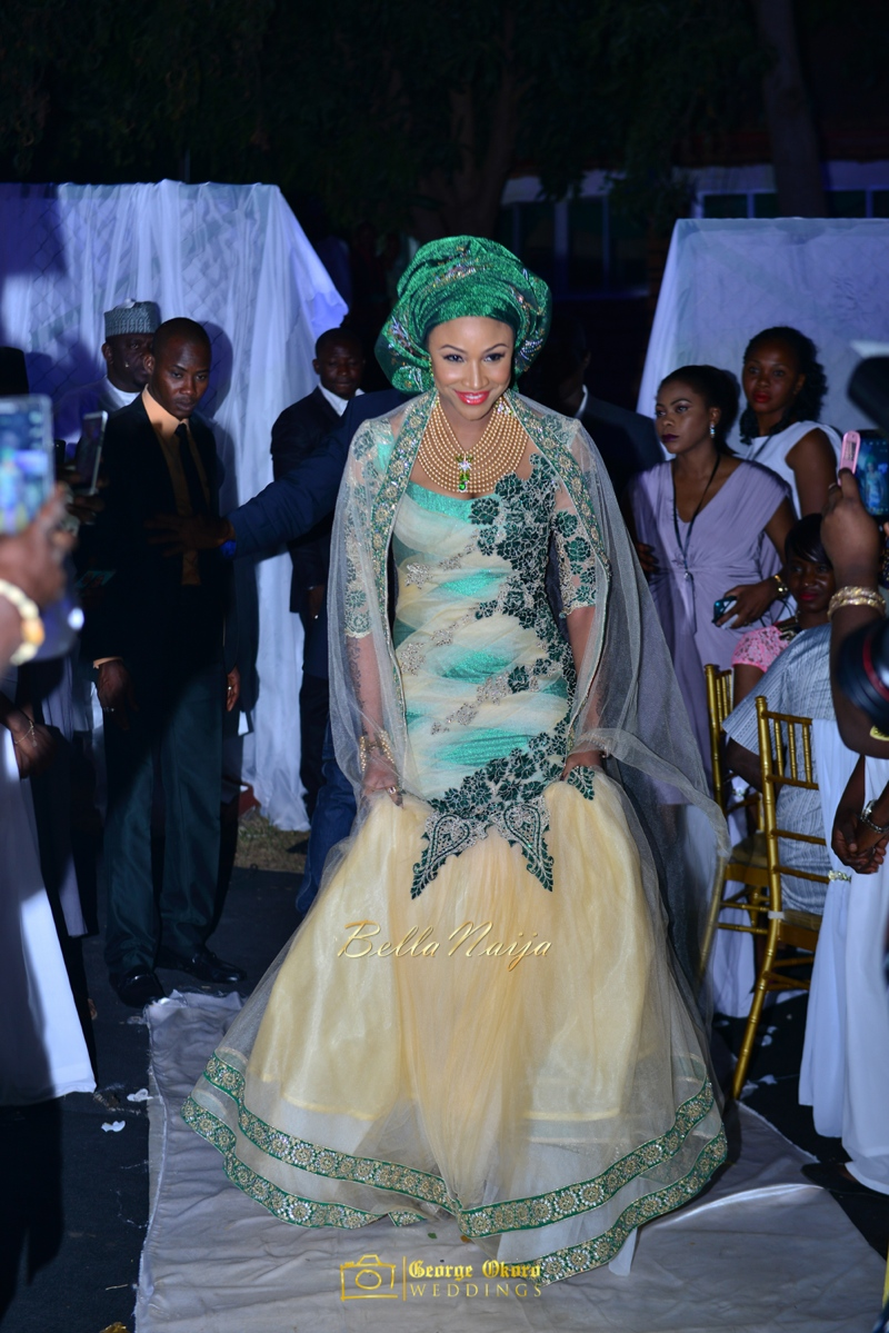 Maryam Augie & Abdulmumin Jibrin's Outdoor Abuja Wedding | George Okoro Photography | Nigerian Muslim Hausa Wedding 2014 | BellaNaija 0George Okoro-2-14015