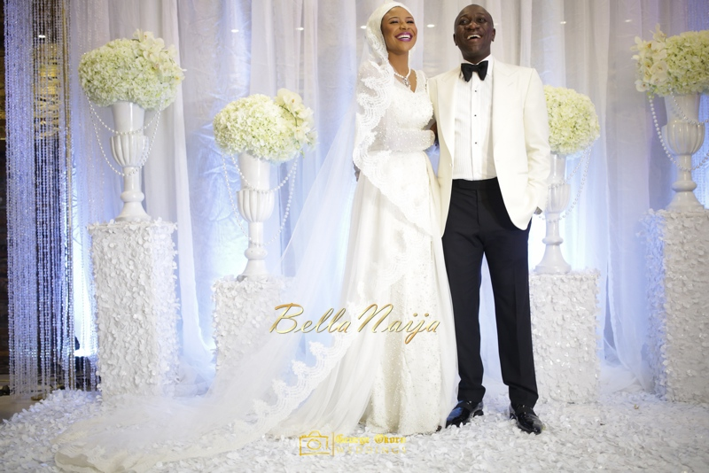 Maryam Augie & Abdulmumin Jibrin's Outdoor Abuja Wedding | George Okoro Photography | Nigerian Muslim Hausa Wedding 2014 | BellaNaija 0George Okoro-2-14017