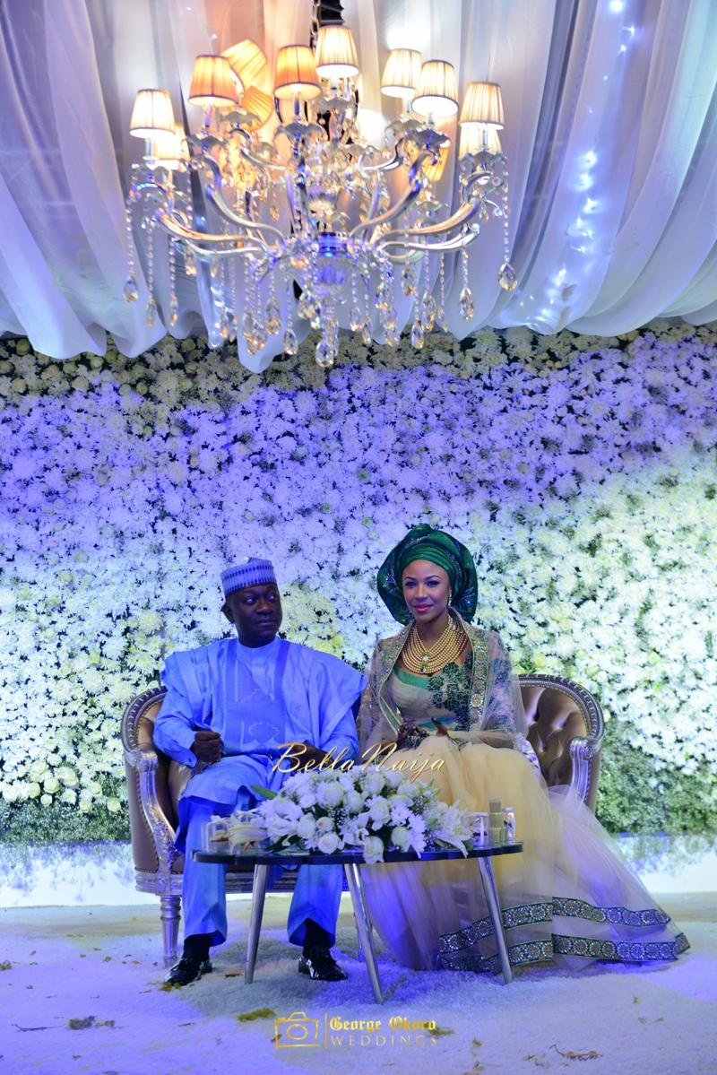 Maryam Augie & Abdulmumin Jibrin's Outdoor Abuja Wedding | George Okoro Photography | Nigerian Muslim Hausa Wedding 2014 | BellaNaija 0George Okoro-2-27018
