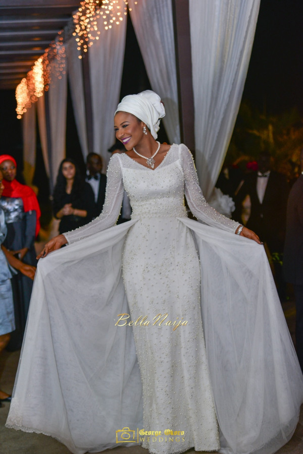 Maryam Augie & Abdulmumin Jibrin's Outdoor Abuja Wedding | George Okoro Photography | Nigerian Muslim Hausa Wedding 2014 | BellaNaija 0George Okoro-2-28233