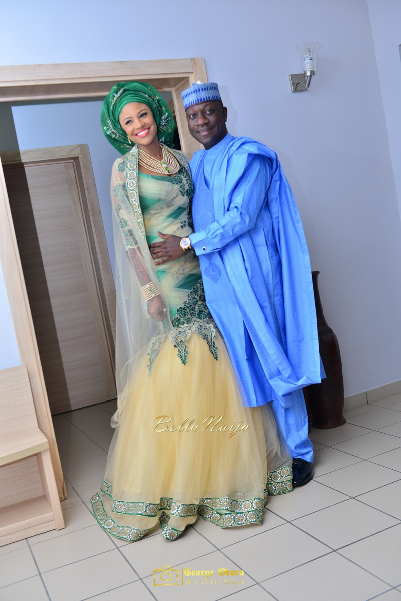 Maryam Augie & Abdulmumin Jibrin's Outdoor Abuja Wedding | George Okoro Photography | Nigerian Muslim Hausa Wedding 2014 | BellaNaija 0George Okoro-2-3020