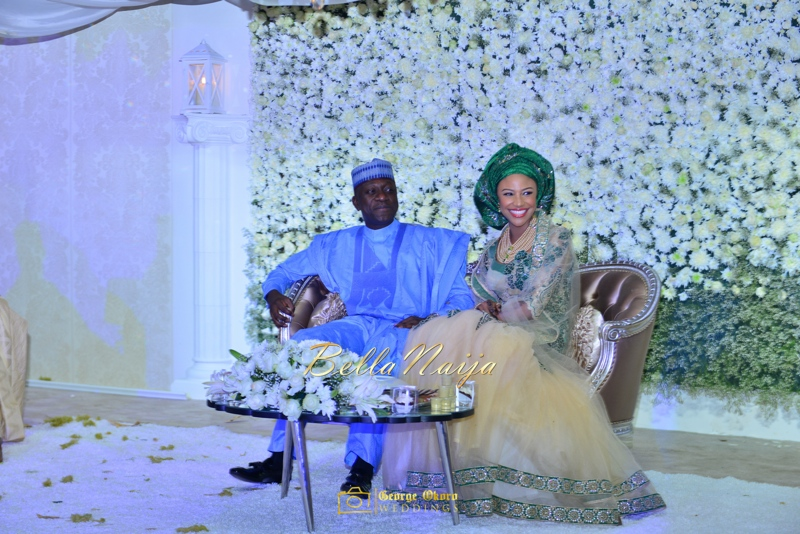 Maryam Augie & Abdulmumin Jibrin's Outdoor Abuja Wedding | George Okoro Photography | Nigerian Muslim Hausa Wedding 2014 | BellaNaija 0George Okoro-2-31021