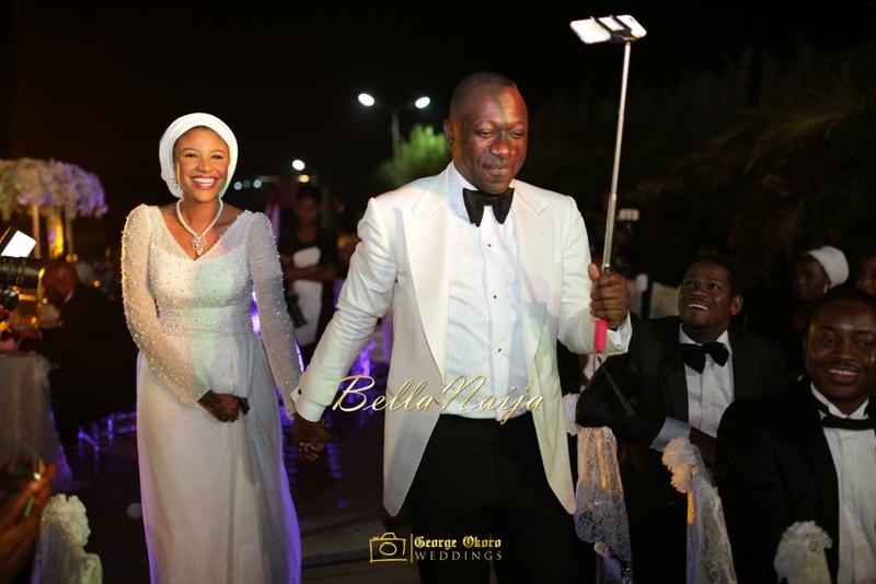 Maryam Augie & Abdulmumin Jibrin's Outdoor Abuja Wedding | George Okoro Photography | Nigerian Muslim Hausa Wedding 2014 | BellaNaija 0George Okoro-2-43247