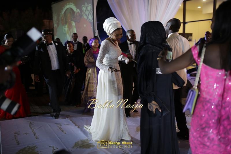 Maryam Augie & Abdulmumin Jibrin's Outdoor Abuja Wedding | George Okoro Photography | Nigerian Muslim Hausa Wedding 2014 | BellaNaija 0George Okoro-2-48853