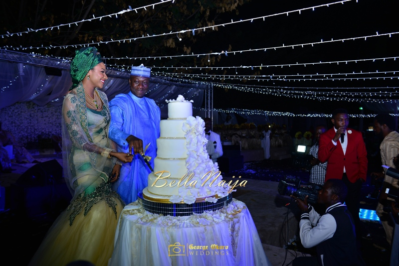 Maryam Augie & Abdulmumin Jibrin's Outdoor Abuja Wedding | George Okoro Photography | Nigerian Muslim Hausa Wedding 2014 | BellaNaija 0George Okoro-2-76029