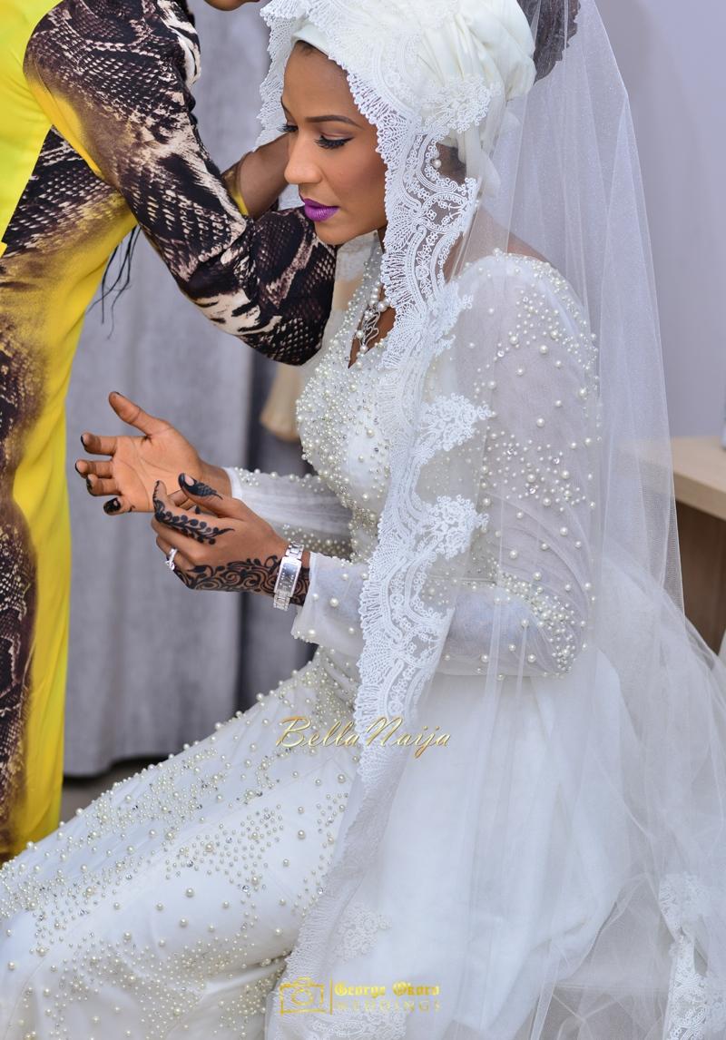 Maryam Augie & Abdulmumin Jibrin's Outdoor Abuja Wedding | George Okoro Photography | Nigerian Muslim Hausa Wedding 2014 | BellaNaija 0George Okoro-2-8158