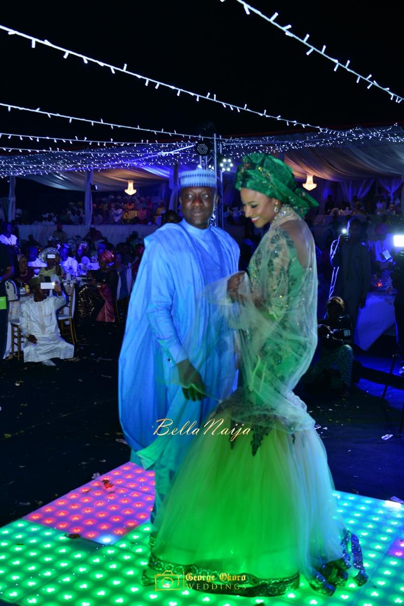 Maryam Augie & Abdulmumin Jibrin's Outdoor Abuja Wedding | George Okoro Photography | Nigerian Muslim Hausa Wedding 2014 | BellaNaija 0George Okoro-2-86033