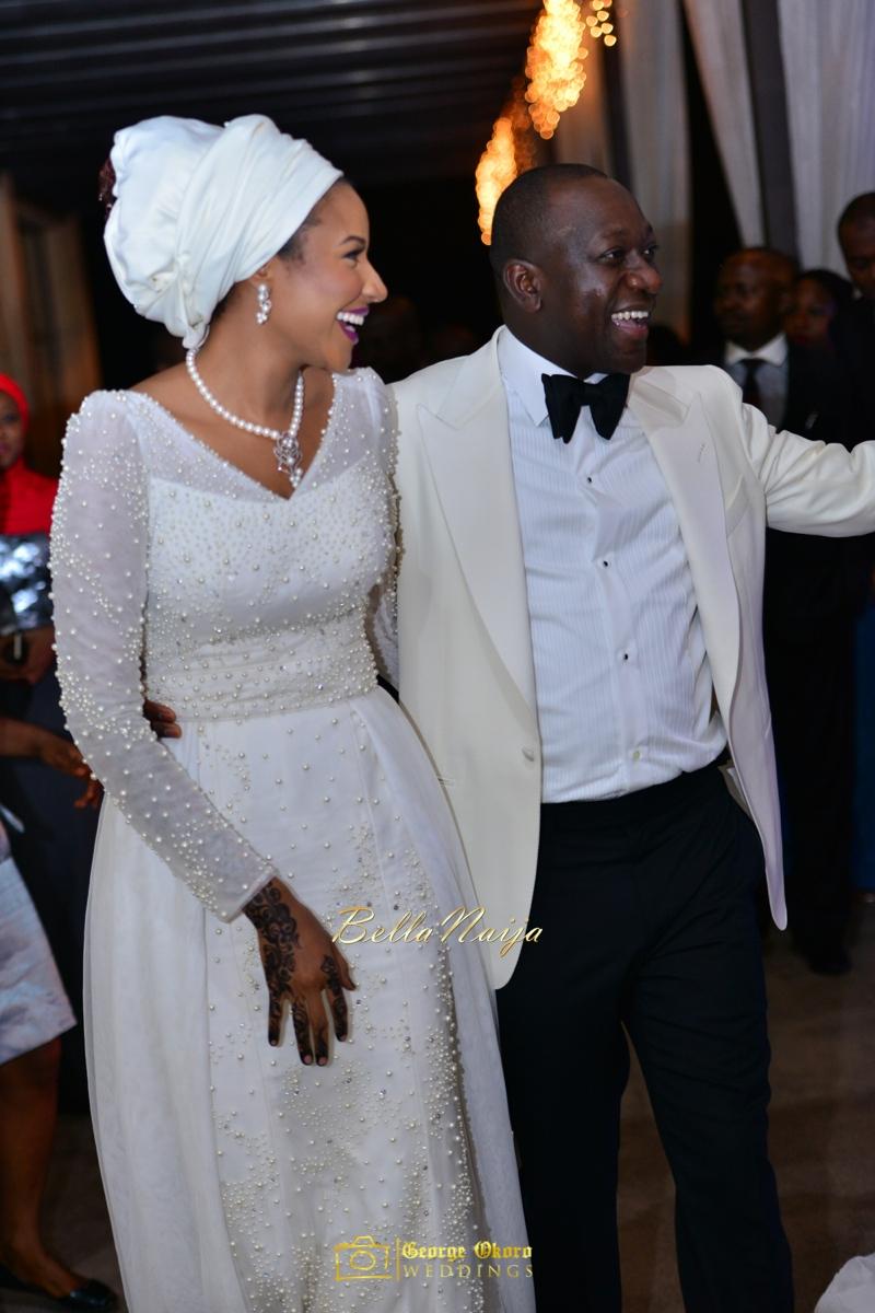 Maryam Augie & Abdulmumin Jibrin's Outdoor Abuja Wedding | George Okoro Photography | Nigerian Muslim Hausa Wedding 2014 | BellaNaija 0George Okoro-23664