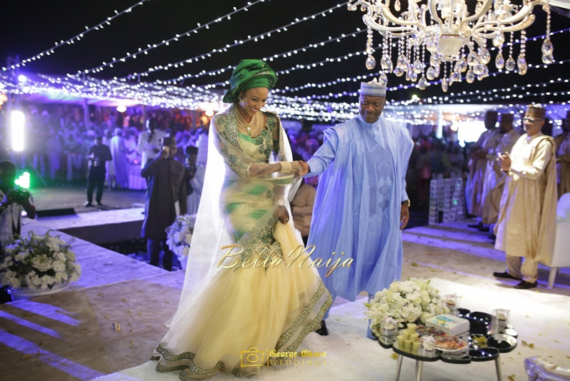 Maryam Augie & Abdulmumin Jibrin's Outdoor Abuja Wedding | George Okoro Photography | Nigerian Muslim Hausa Wedding 2014 | BellaNaija 0George Okoro-292046