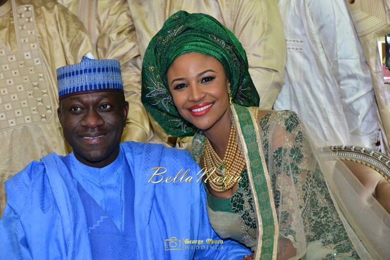 Maryam Augie & Abdulmumin Jibrin's Outdoor Abuja Wedding | George Okoro Photography | Nigerian Muslim Hausa Wedding 2014 | BellaNaija 0George Okoro-3-105049