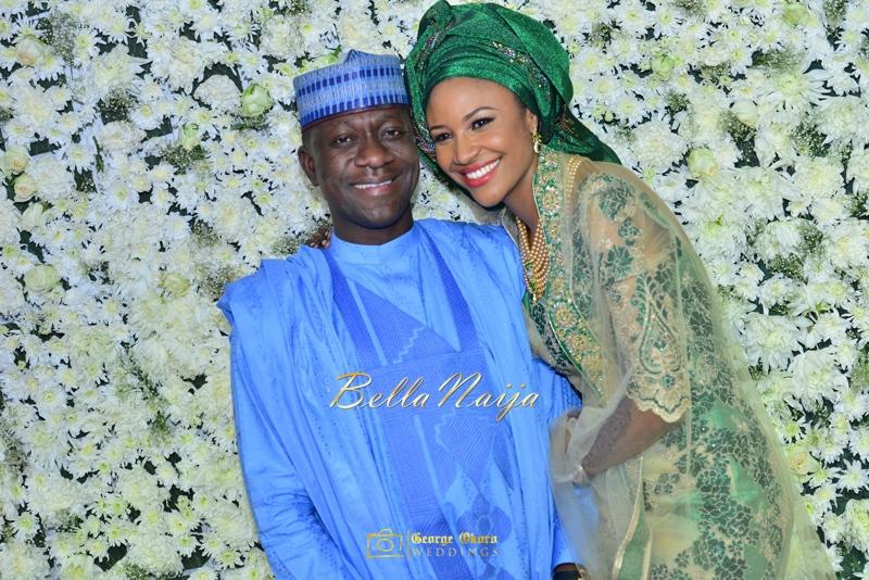 Maryam Augie & Abdulmumin Jibrin's Outdoor Abuja Wedding | George Okoro Photography | Nigerian Muslim Hausa Wedding 2014 | BellaNaija 0George Okoro-3-107050