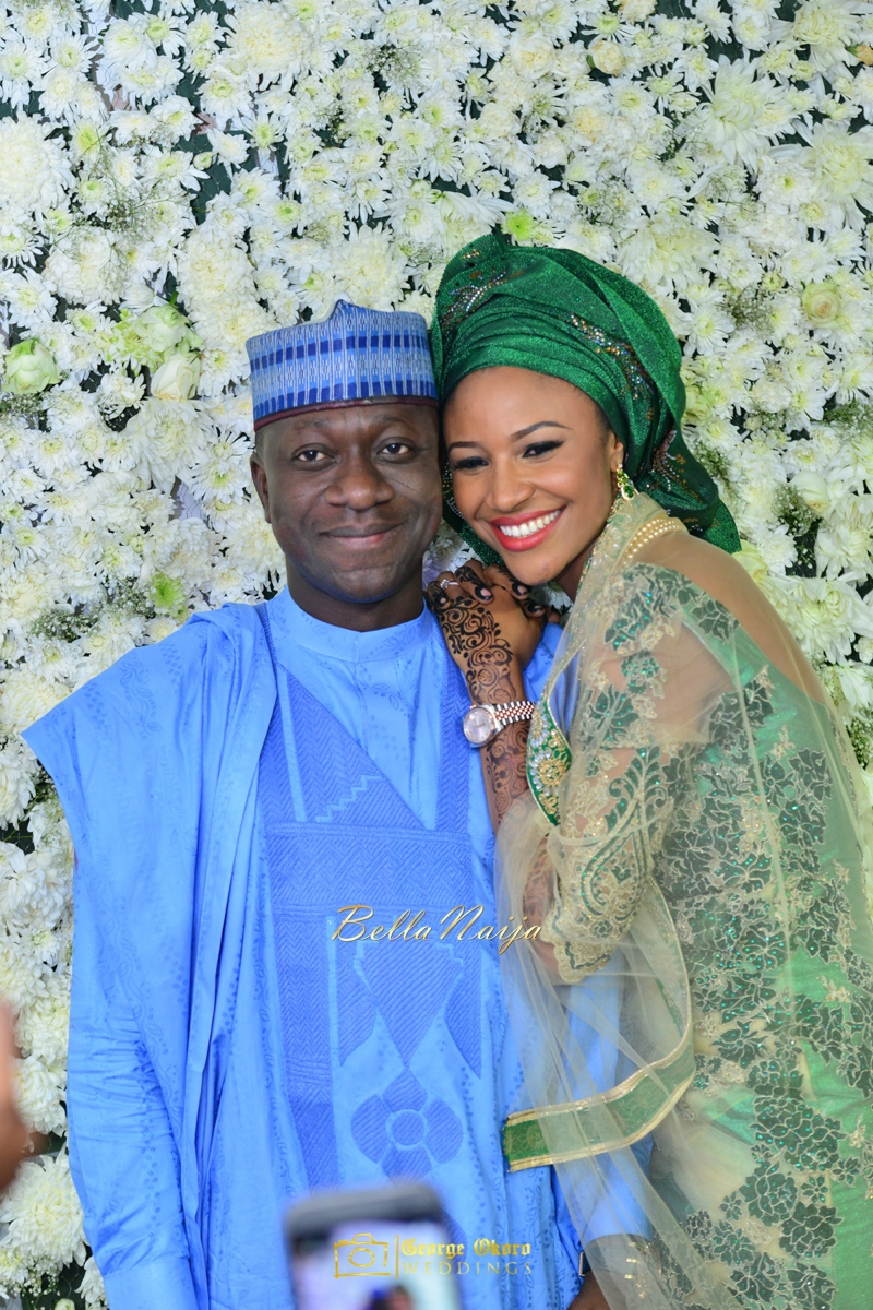 Maryam Augie & Abdulmumin Jibrin's Outdoor Abuja Wedding | George Okoro Photography | Nigerian Muslim Hausa Wedding 2014 | BellaNaija 0George Okoro-3-109051