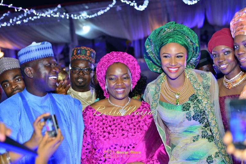 Maryam Augie & Abdulmumin Jibrin's Outdoor Abuja Wedding | George Okoro Photography | Nigerian Muslim Hausa Wedding 2014 | BellaNaija 0George Okoro-3-19057
