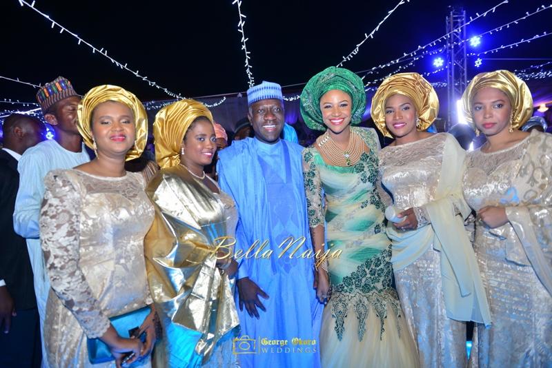 Maryam Augie & Abdulmumin Jibrin's Outdoor Abuja Wedding | George Okoro Photography | Nigerian Muslim Hausa Wedding 2014 | BellaNaija 0George Okoro-3-31059
