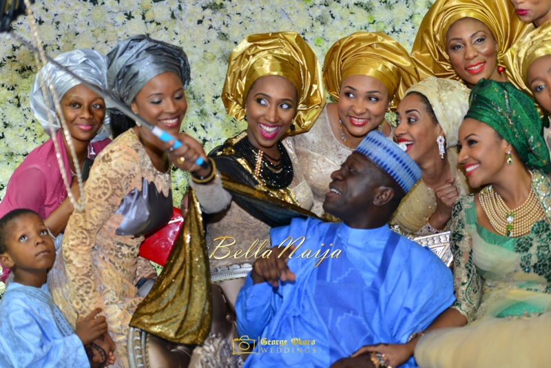 Maryam Augie & Abdulmumin Jibrin's Outdoor Abuja Wedding | George Okoro Photography | Nigerian Muslim Hausa Wedding 2014 | BellaNaija 0George Okoro-3-90068