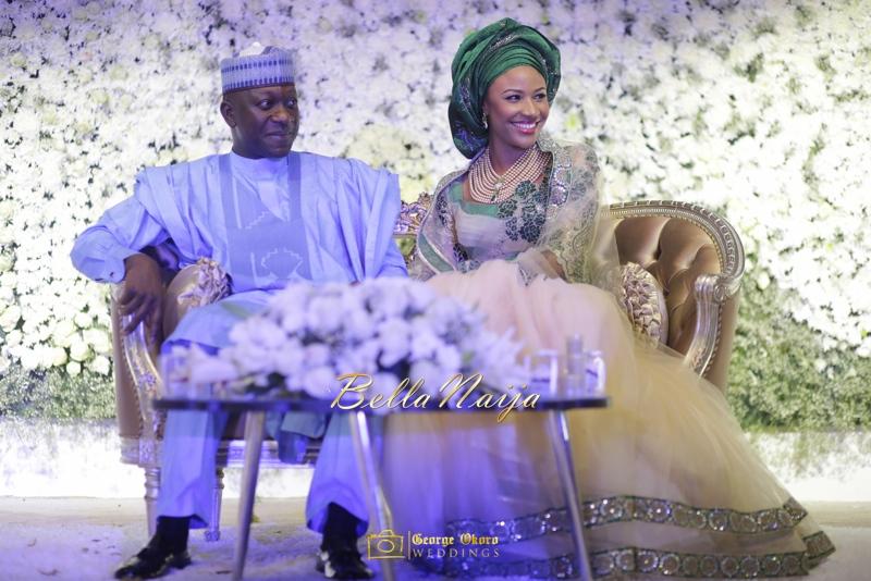 Maryam Augie & Abdulmumin Jibrin's Outdoor Abuja Wedding | George Okoro Photography | Nigerian Muslim Hausa Wedding 2014 | BellaNaija 0George Okoro-318072