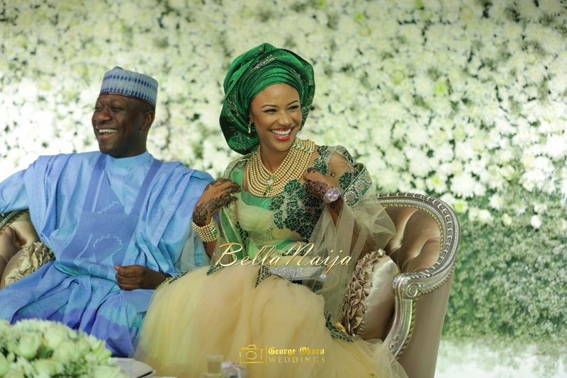 Maryam Augie & Abdulmumin Jibrin's Outdoor Abuja Wedding | George Okoro Photography | Nigerian Muslim Hausa Wedding 2014 | BellaNaija 0George Okoro-367079