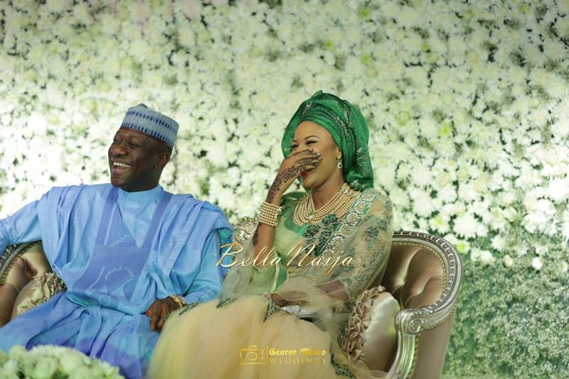 Maryam Augie & Abdulmumin Jibrin's Outdoor Abuja Wedding | George Okoro Photography | Nigerian Muslim Hausa Wedding 2014 | BellaNaija 0George Okoro-369081