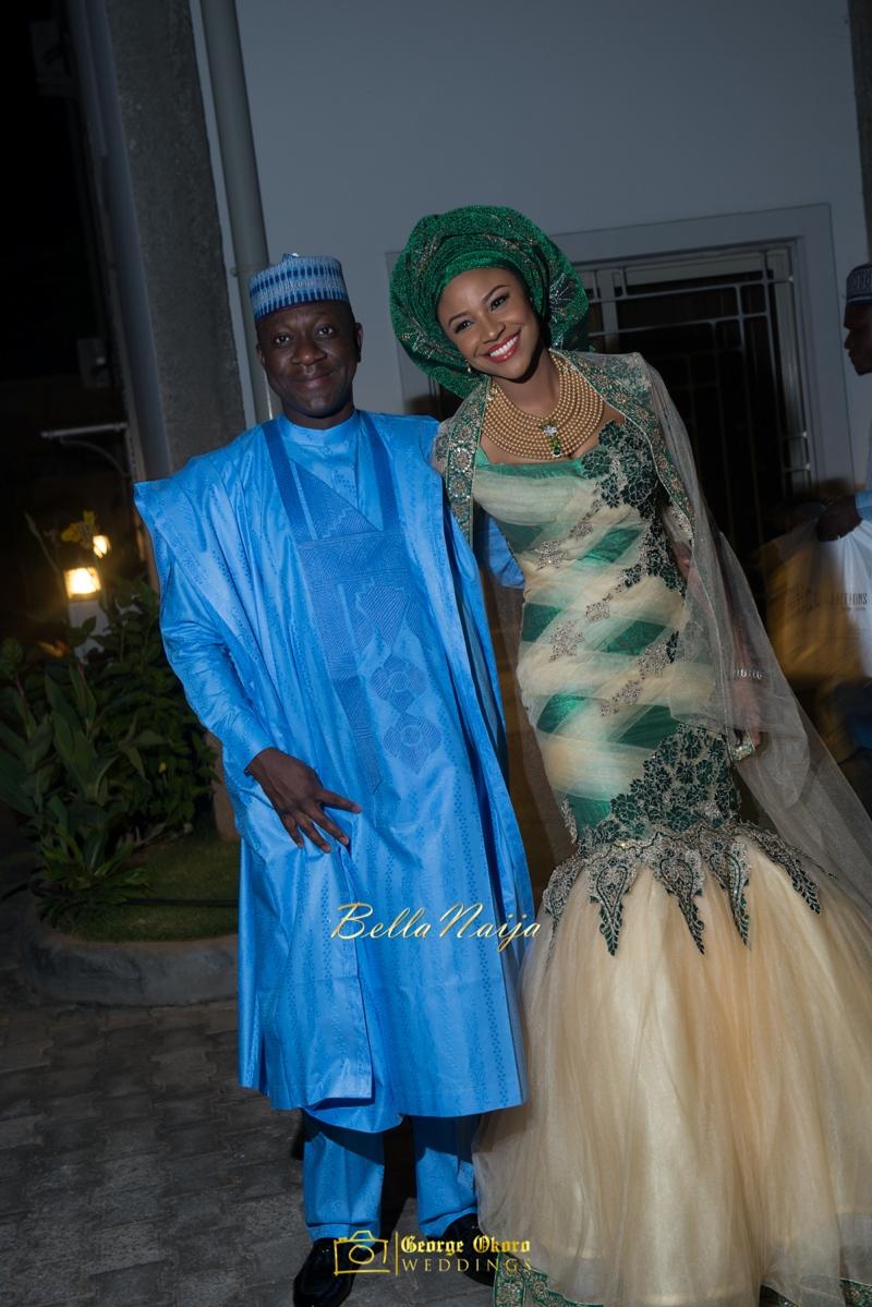 Maryam Augie & Abdulmumin Jibrin's Outdoor Abuja Wedding | George Okoro Photography | Nigerian Muslim Hausa Wedding 2014 | BellaNaija 0George Okoro-39084