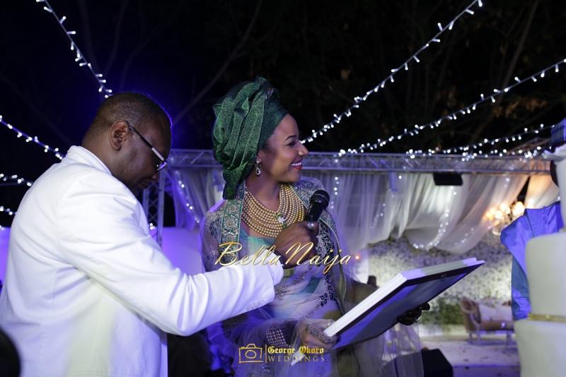 Maryam Augie & Abdulmumin Jibrin's Outdoor Abuja Wedding | George Okoro Photography | Nigerian Muslim Hausa Wedding 2014 | BellaNaija 0George Okoro-455090