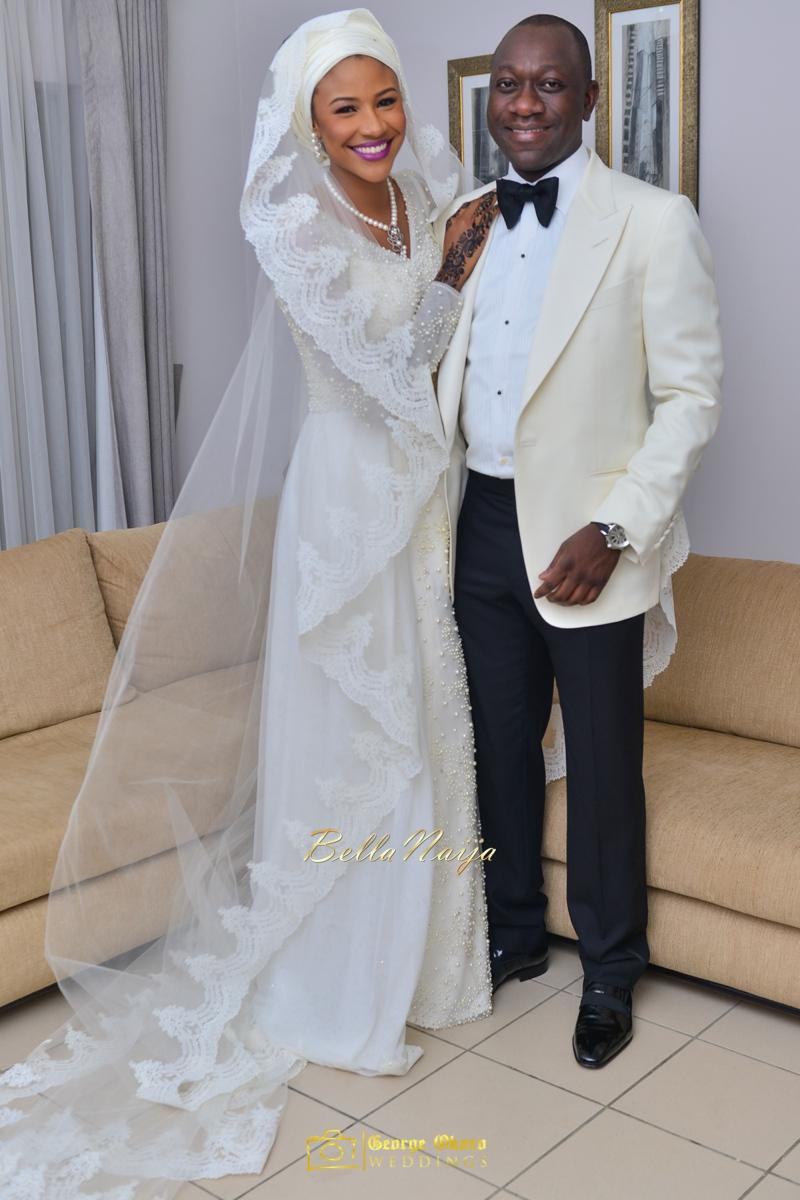 Maryam Augie & Abdulmumin Jibrin's Outdoor Abuja Wedding | George Okoro Photography | Nigerian Muslim Hausa Wedding 2014 | BellaNaija 0George Okoro-5-879