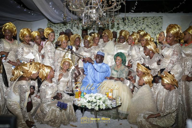 Maryam Augie & Abdulmumin Jibrin's Outdoor Abuja Wedding | George Okoro Photography | Nigerian Muslim Hausa Wedding 2014 | BellaNaija 0George Okoro-568100