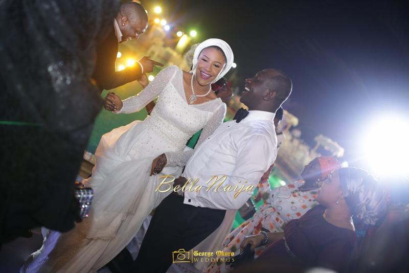 Maryam Augie & Abdulmumin Jibrin's Outdoor Abuja Wedding | George Okoro Photography | Nigerian Muslim Hausa Wedding 2014 | BellaNaija 0George Okoro-59684