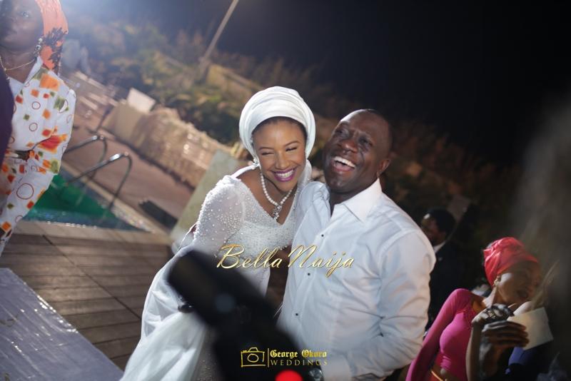 Maryam Augie & Abdulmumin Jibrin's Outdoor Abuja Wedding | George Okoro Photography | Nigerian Muslim Hausa Wedding 2014 | BellaNaija 0George Okoro-67089