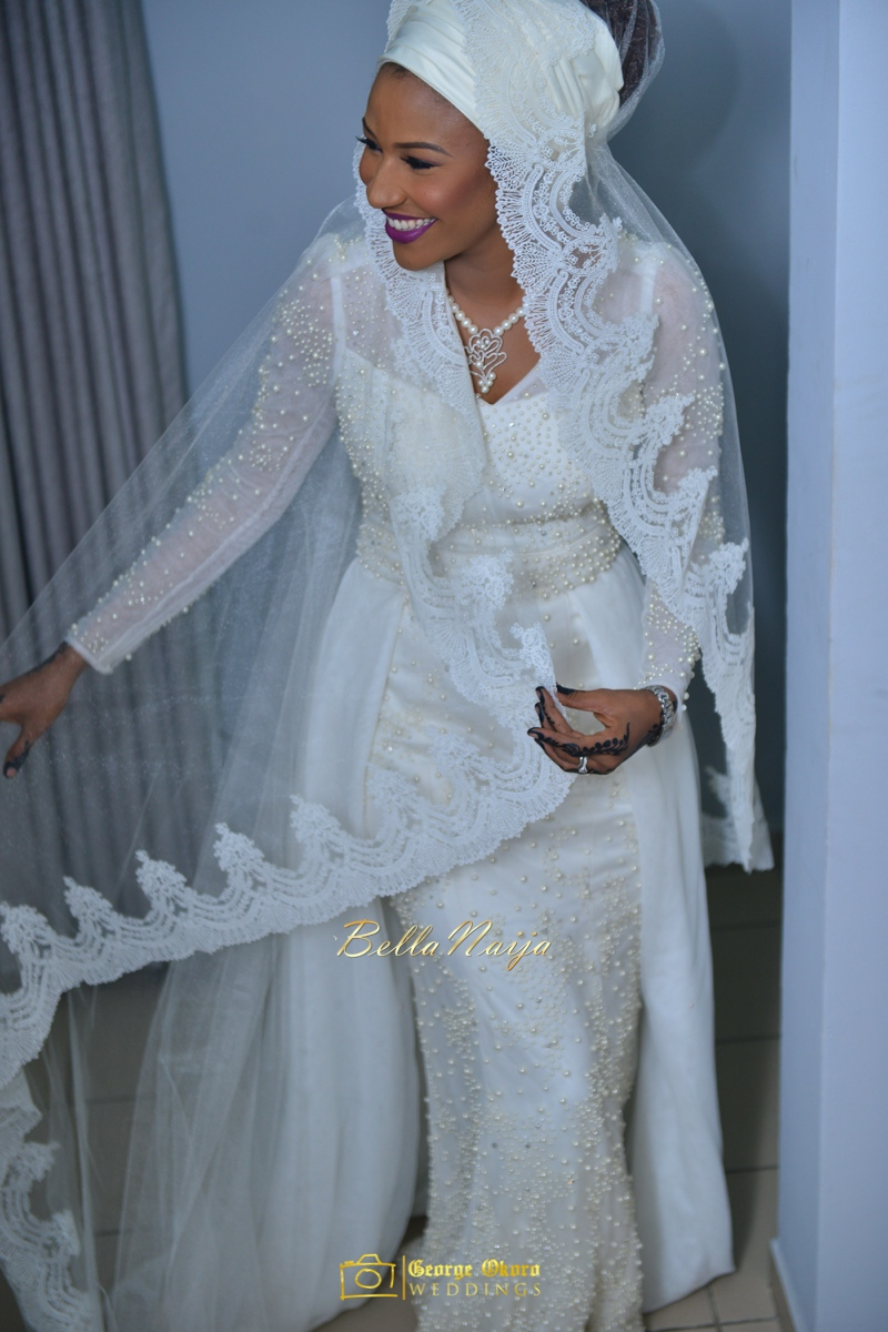 Maryam Augie & Hon. Abdulmumin Jibrin\'s Spectacular Outdoor Wedding ...